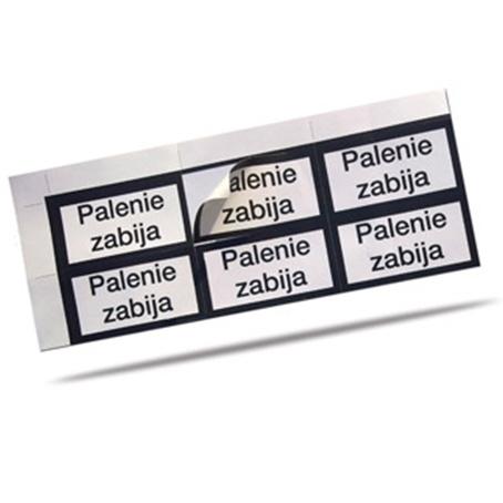 Naklejki, Etykiety papierowe
